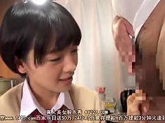 ウブな女子校生におじさんがイケナイ性教育をするエロ動画