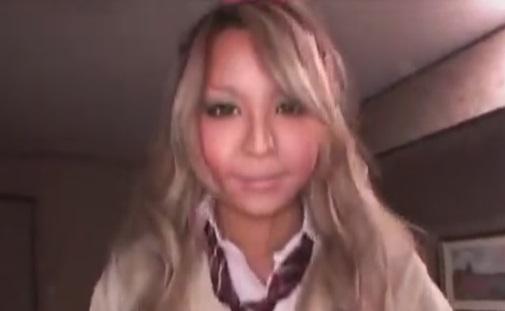 素人パパ活ナンパ舌ピ黒ギャル女子高校生との制服エッチ動画