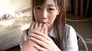援交で18才の女子高生とハメ撮りエッチして顔射するエロ動画