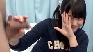 ハタチの看護学生が早漏を克服するためにお手伝いする素人えろ動画