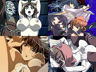 女武士が身包みはがされエッチし捲るサムライホルモンってエロアニメ