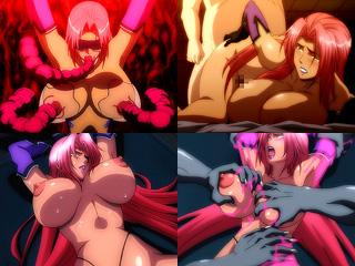 淫獣や触手の膣穴快楽に自ら惨めにイキまくる魔界騎士イングリッド