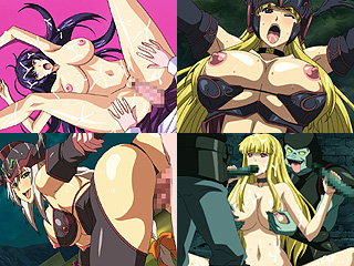 戦乙女ヴァルキリーGで3人の女戦士が完墜し捲る凌辱系のエロアニメ