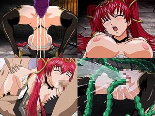 アナル&触手堕ちする囚われし奴隷メイドプリンセスってエロアニメ
