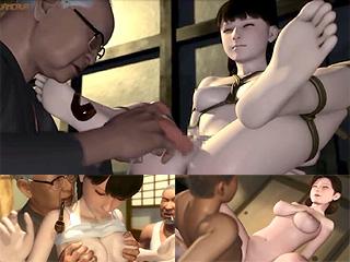 生娘が男と交際する前に他人に姦通される村の儀式の村って3Dアニメ