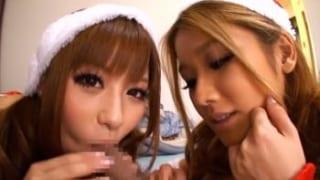 【エロ動画】ギャルサンタがエッチなBODYをプレゼント