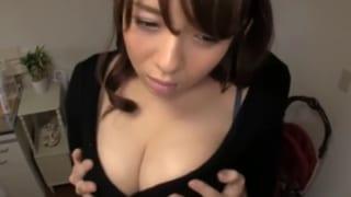 【三島奈津子】エロ過ぎるムチムチIカップ爆乳超淫乱人妻