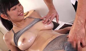 【桐谷まつり】Hカップ爆乳美少女にHなオイルマッサージ