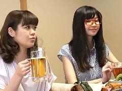 居酒屋でナンパした主婦2人とエッチした素人ハメ撮りSEX動画
