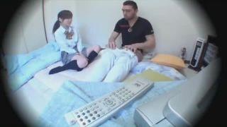 アラブ系外国人男性のエロテクとデカチンで大絶叫連続イキSEXしてるJK盗撮動画