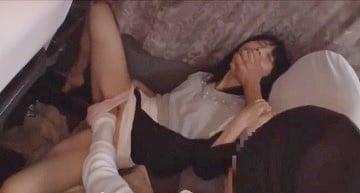 【女子大生★レイプ】夜行バスで移動中の巨乳JDがSAトイレで犯されるレイプ動画|おなコレ★シコれるアダルト動画