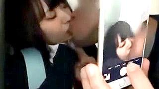 制服ロリJKがスマホ撮りされながらイラマ激パコされるレイプ動画