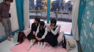 【MM部屋に制服娘】窓がマジックミラーの部屋に3人のJCを連込んだ結果wスリル満点で絶叫激パコだぁー|おなコレ★シコれるアダルト動画