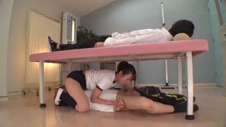 JK女優の緒川りおが体操服ブルマや制服姿の様々なシーンで抜き捲くるエロ動画