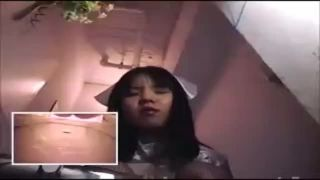 歌舞伎町のイメクラのトイレにカメラ仕掛けナース姿の風俗嬢のおしっこ盗撮